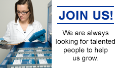 We are always looking for talented people to help us continue to grow as a global company.