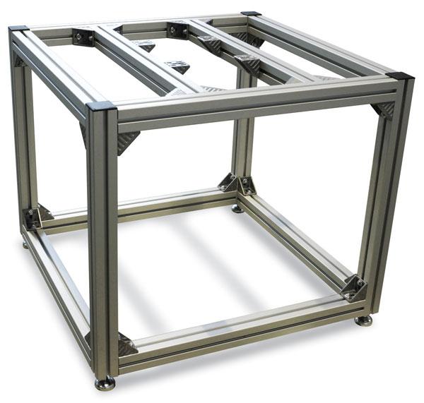 kurt j lesker company extruded aluminum bay style