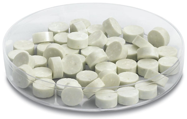 Zinc oxide tablets