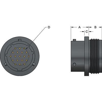 Metal Ceramic Feedthrough Elektrische Und Optische