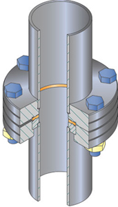 ConFlat Flange Assembly