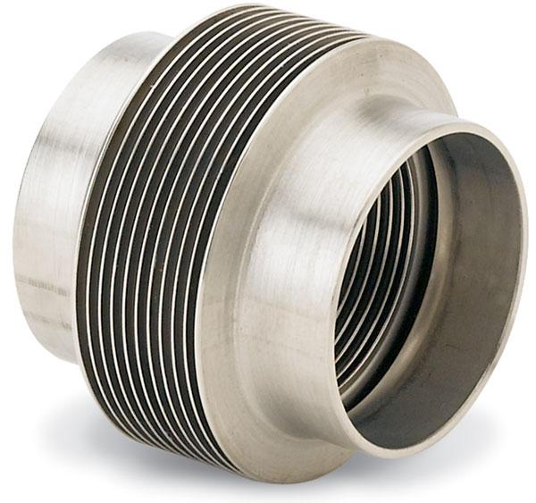 Kurt j lesker company flex metal bellows — edge welded
