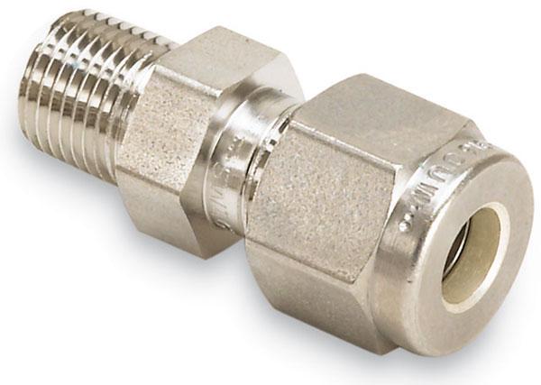 Kurt j lesker company swagelok to male npt adapters