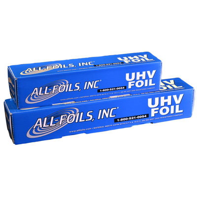 Ultrahochvakuum (UHV) Aluminiumfolie