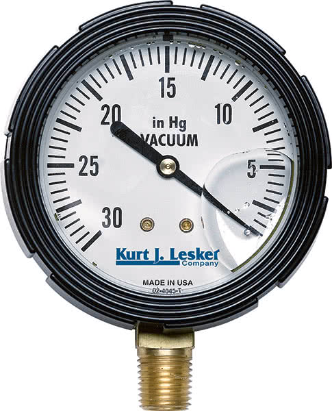 bourdon gage The sensitivity change for a commercial fused quartz bourdon tube precision pressure gauge, due to a change in absolute pressure level, has been analytically computed and experimentally confirmed the computed differential pressure error is 25% of full scale at a 100 atm absolute pressure level the experimental.