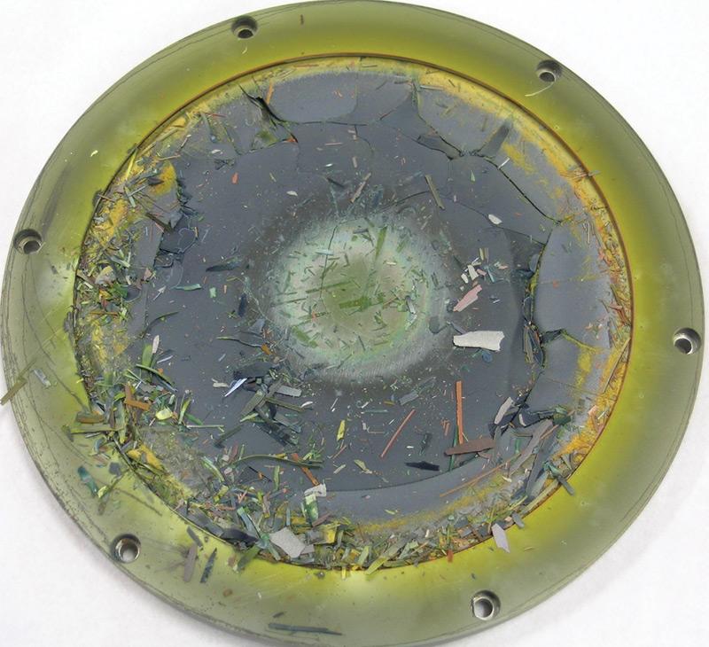 Indium tin oxide target