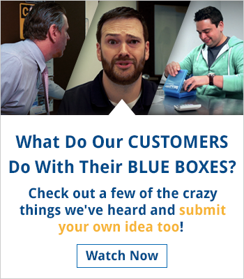 What Do Our Customers Do With Their Blue Boxes?