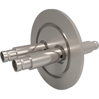 MHV Feedthroughs - KF Flange, Double-Ended