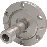 Type N Feedthroughs - CF Flange, Double-Ended