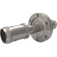 CF Flanged Type J - Thermocouple Feedthroughs - Mil-Spec Screw T/C Plug, Double-End