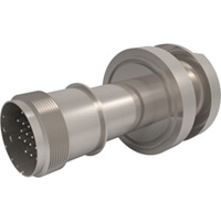 Baseplate Type K - Thermocouple Feedthroughs - Mil-Spec Screw T/C Plug, Double-End