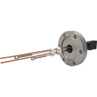CF Flanged Type J - Thermocouple Feedthroughs - Miniature T/C Plug & Power Leads
