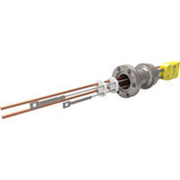 CF Flanged Type K - Thermocouple Feedthroughs - Miniature T/C Plug & Power Leads