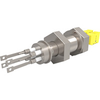 Baseplate Type K - Thermocouple Feedthroughs - Miniature T/C Plug