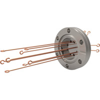 CF Flange Type R Loops - Thermocouple Feedthroughs