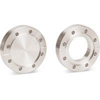 304L SS Double-Faced ConFlat® (CF) Flanges