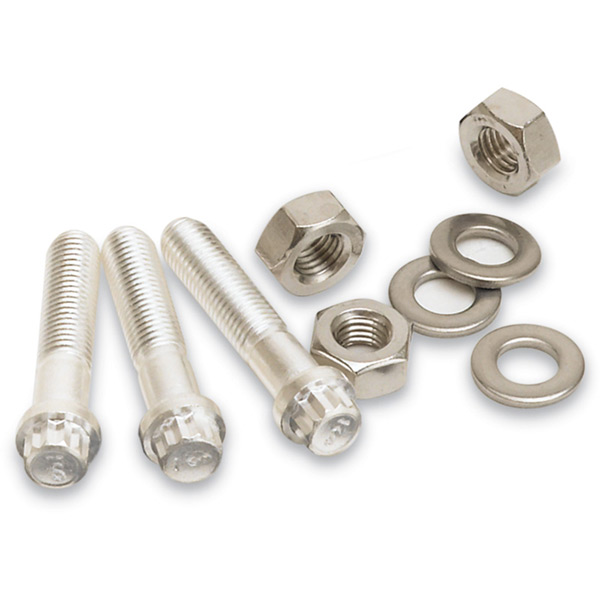 12-Point Cap Screw & Nut Sets (Clearance Flanges)