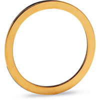 Gold-plated Copper Gaskets for ConFlat (CF) Flanges