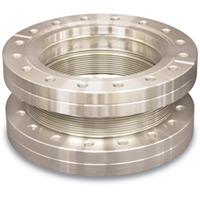 Flex Metal Edge-Welded Bellows with ConFlat (CF) Flanges