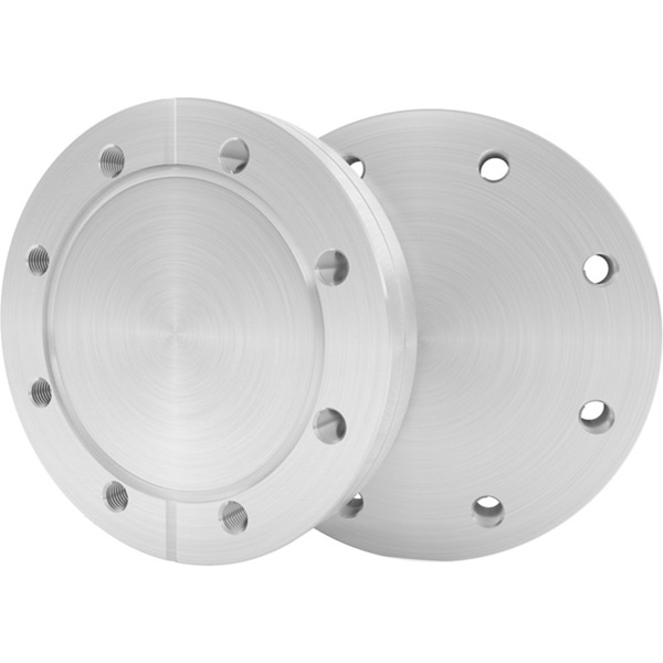 Fixed Tapped-Blank 304L SS Standard ConFlat® (CF) Flanges