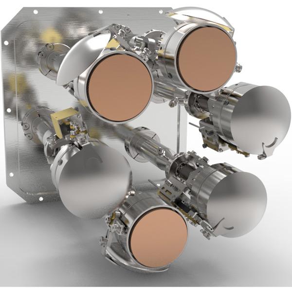 TORUS® Sputter-Cluster, runde Magnetrons
