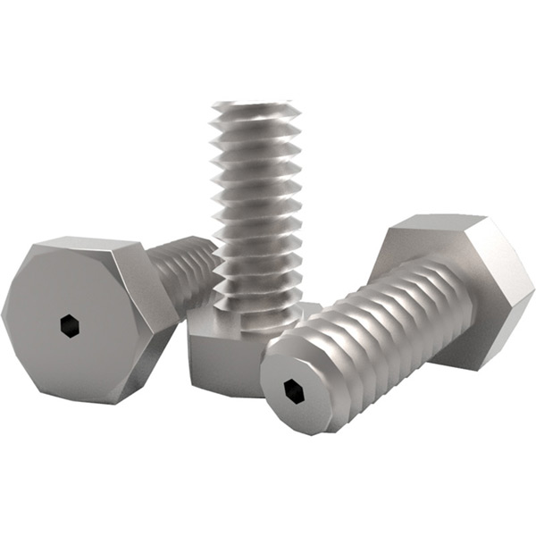Vented Stainless Steel Hex Head Bolts (Metric)