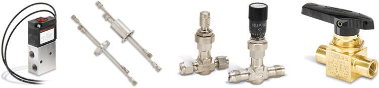 Lösungen für Gase und Flüssigkeiten