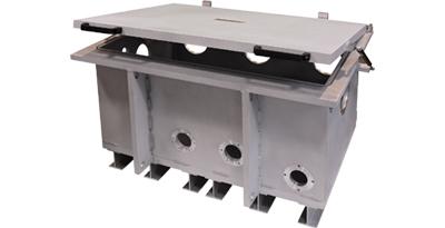 Aluminium-Vakuumkammern