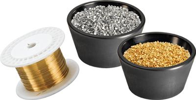 Verdampfungsmaterialien, Pellets, Stücke und Drähte Bild