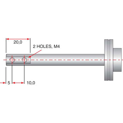 Click to view Linear Drive Output Shaft Dimensions
