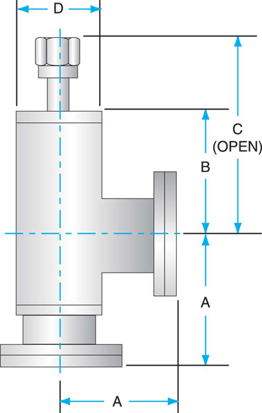 click to view angle all metal valve